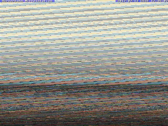 Webcame: Hörnerbahn Mittelstation